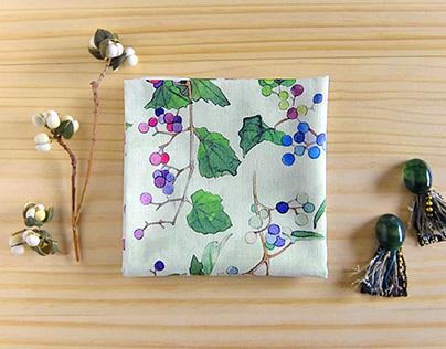 Handkerchief acacia & wild grapes