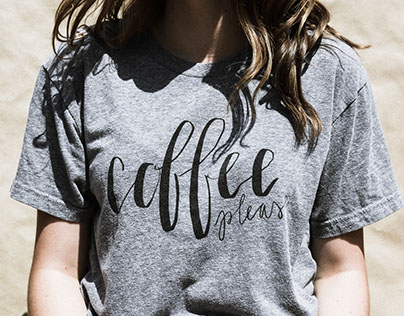 Coffee Please Shirt