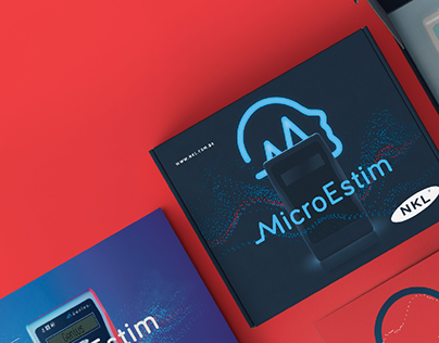 MicroEstim Product and Identity Design