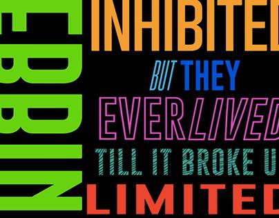 Imagine Dragons Kinetic Typography