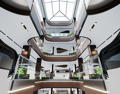 Clover Mall Interior Design Video