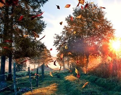 Autumn Pumpkin Glaze Overlay Collection