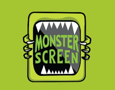 Logotype - Monster Screen