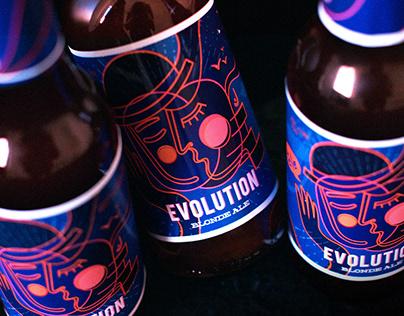 Evolution Blond Ale Craft Beer