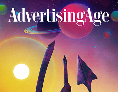 OUT OF ORBIT // 2017 AdAge Cover Competition