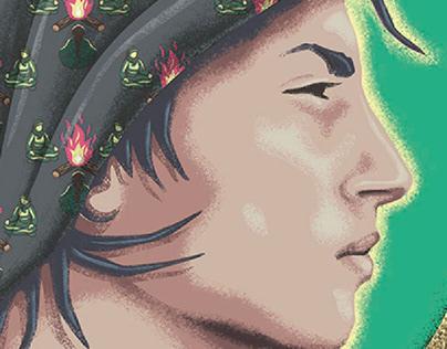 """""""Rojava Revolution"""" Poster"""