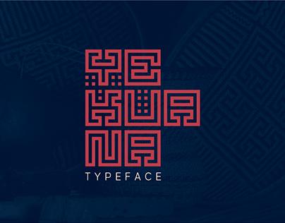 Yekuana · Typeface