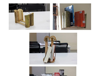 Workshop- Making bookstand with different materials