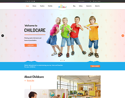 Multipurpose Business WordPress Theme for PreSchool