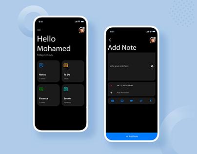 Note - Todo App