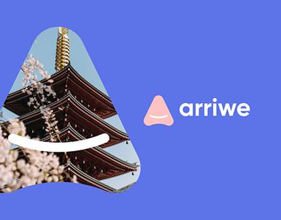 Arriwe Logo Case — Traveling Documentation Service