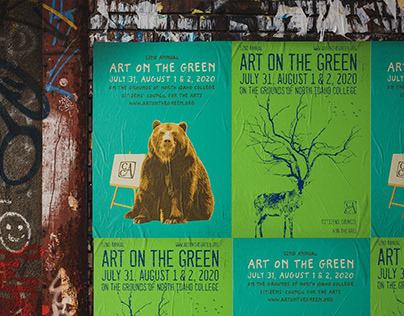 Art on the Green posters (The Urban Green Project)