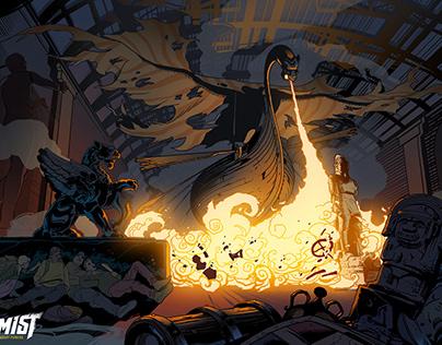 The City of Mist - Comic