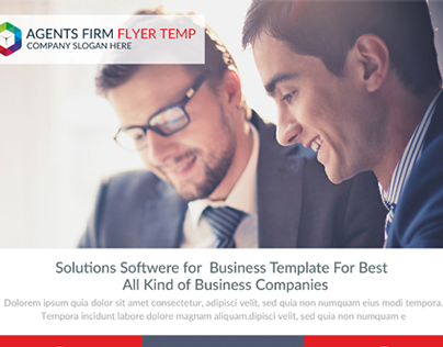 Business Flyer Psd Templates