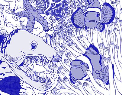 Bloup bloup ! • Underwater scene
