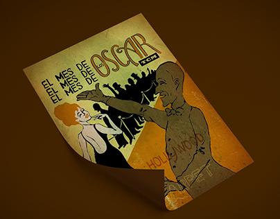"""""""El mes de los Oscar"""" Turner 2009 Calendar"""