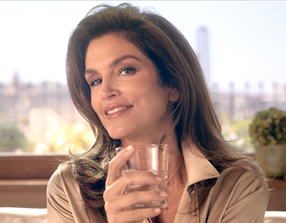 Cindy Crawford for SanBenedetto TV Ads