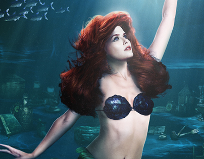 The Little Mermaid: Key Art (Fan Poster)