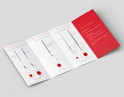 Bi-fold brochure design for Symetis on Behance