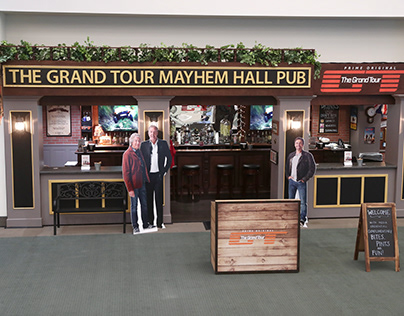 THE GRAND TOUR MAYHEM HALL PUN