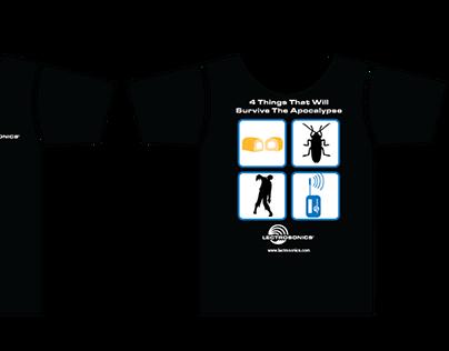 "Lectrosonics ""Apocalypse"" T-Shirt Design"