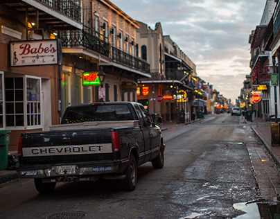 Bourbon Street, Sunrise