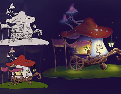 Лавочка грибной ведьмы