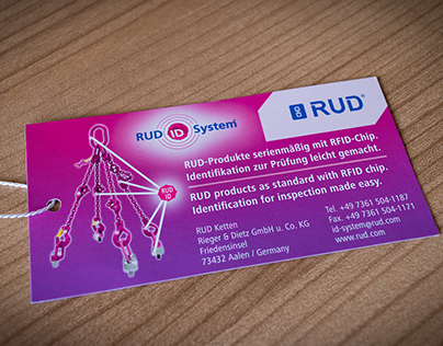 RUD-ID-System / product tag