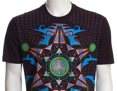 Hexodus UV D72 - Psychedelic T-Shirt