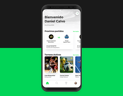 Sportwey — mobile app