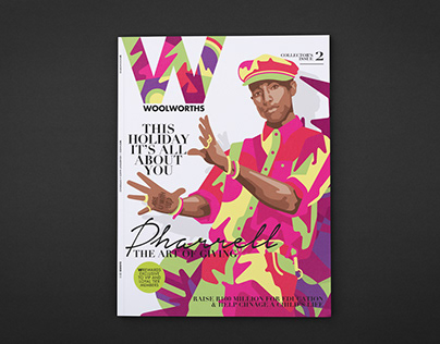Pharrell for W Magazine