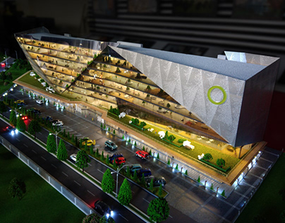 Architectural Model Demirtas Office 360