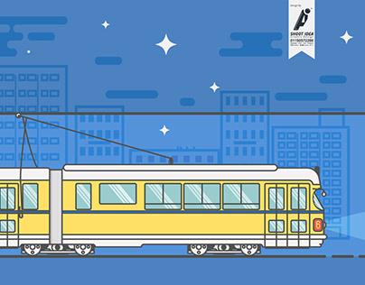 "Tram in Alexandria "" Александрийский трамвай"