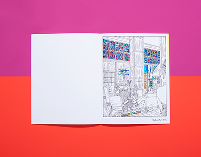Mindful Coloring Book for Morgans Hotel Group