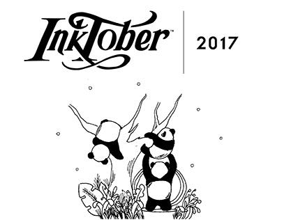 INKTOBER 2017 - The Phrasey Panda
