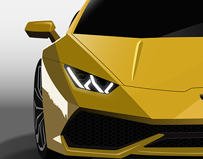 Pure Vector art of cars