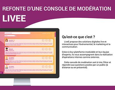 LiveE - WebDesign