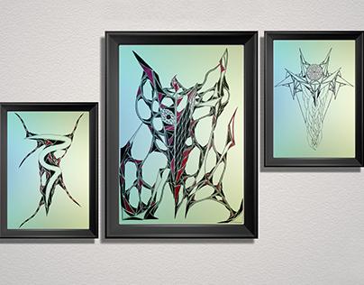 HAND MADE ART - CANVAS / PAPER / MURAL