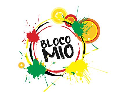 Diseño logotipo - Bloco Mío