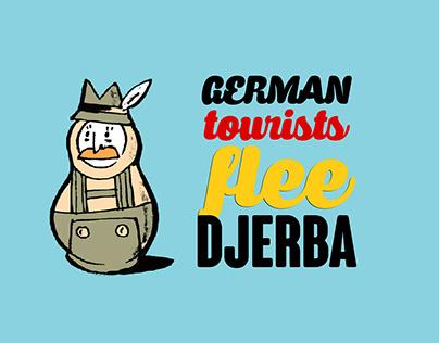 German Tourists Flee Djerba