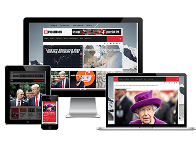 Revolution - Joomla News template