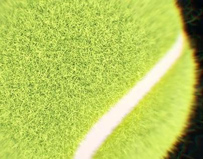 C4D tennis animation