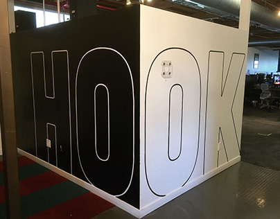 Hook Studios Entrance Logo