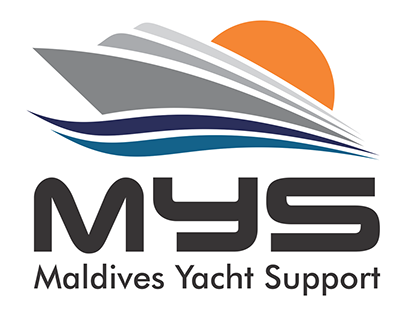 MYS - Maldives Yacht Support Logo