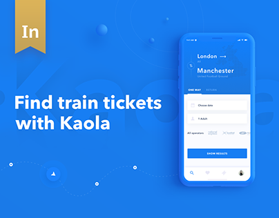 Kaola. IOS app for train tickets booking