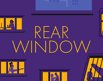 Rear Window Title Sequence