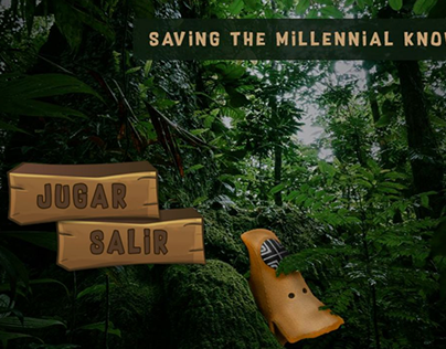 VR GAME: SAVING THE MILLENNIAL KNOWLEDGE