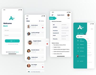 Clinic App Design