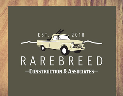 Rarebreed Construction & Associates Brand