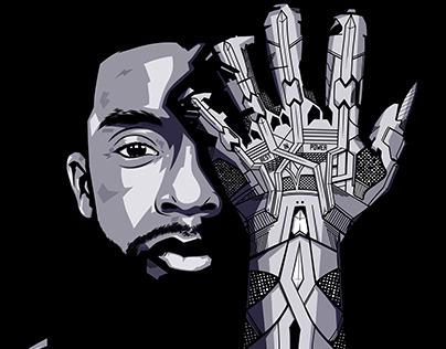 Chadwick Boseman The Black Panther
